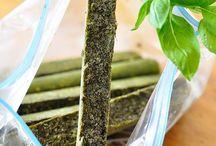 Congélation herbes aromatique