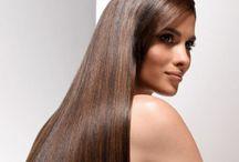 Прически с прямыми волосами