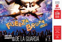 FUERZA BRUTA Look Up / FUERZA BRUTA Look Up To σώου που αποθεώνεται στη Νέα Υόρκη, τώρα και στην Αθήνα! BADMINTON  Από 22 Σεπτεμβρίου 2013 και για λίγες μόνο παραστάσεις   Fuerza Bruta  Κοίτα ψηλά!