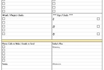Printable Planner Pages / Free Printable Planner Pages to Download