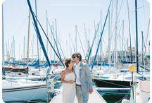 Yacht club weddings / Sailing!
