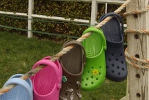 The CROCS Attitude / Love 'em or hate 'em, they are everywhere ... sold in more than 125 countries, they come in a wide array of colors and styles. ... Do you love CROCS or do you think they are just too hideous? Personally I LOVE them and they take me everywhere with comfort and style :) / by Domino Albert