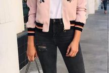 outfits rosados
