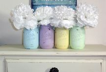 Spring Has Sprung / Spring & Easter Home decor and inspiration.