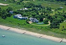 WSJ House Of The Week / Though not quite as dramatic as the changing popularity tides in the Republican primaries, the Martha's Vineyard waterfront estate known as the Athearn House, beat out a lakefront estate challenge from Texas, to become the Wall Street Journal's prestigious House Of The Week today.