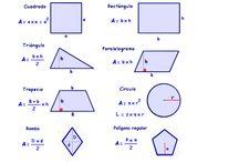 matemáticas areas