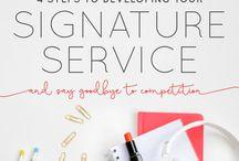 Signature Service entwickeln