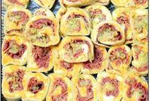 Food ~  Party Sliders & Pinwheels