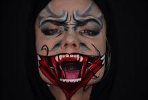 Kačka Kloučková SFX, bodypainting, facepainting, ... / SFX makeup, 3D makeup, maskérství, kostýmy, malba na obličej a tělo - bodypainting, facepainting, time tattoo, malby a kresby všeho druhu.....