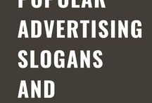 List of Popular Advertisement Slogans