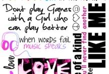 sayings  / by Michaela Frankel