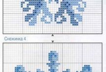 Cross Stitch - Monochrome & Blocks