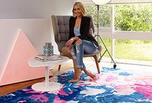 Art Rugs | Statement Pieces for Home Decorating / Bring art from the walls to the floor with a limited edition rug from the ART SERIES Collection – only 50 of each design EVER created.  Featuring 10 pieces by some of Australia's leading artists: Katie McKinnon, Rebecca Judd, Beastman, Home-Work and Pony Rider who each created distinctive rugs to reflect their individual style and creative vision.  With only 50 rugs in each design, they are sure to become a coveted collector's item. Get in quick!  Shop now: http://shop.therugcollection.com.au/