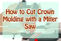Cutting Crown Molding with miter saw