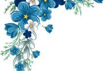 kehykset kukkia