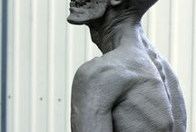 zombie sculptures