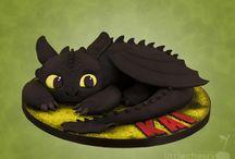 tartas de Toothless