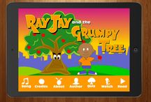 Ray Jay and the Grumpy Tree app / Ray Jay and the Grumpy Tree is a simple story about the unlikely friendship between a little boy named Ray Jay, and a grumpy old apple tree who refuses to share its apples. Through sheer kindness, Ray Jay convinces the grumpy tree to share its apples with the boys and girls of East Side Park. Along the way the grumpy tree receives the most precious gift anyone could ask for. See what happens in this timeless story about sharing, friendship, and loyalty.