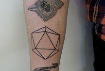 ink on skin