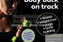 Fitness Club Flyers/Posters