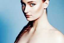 #Sophie turner #glamour #red hair