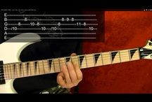Movie/Show Guitar Lessons / Several guitar lessons on how to play some popular movie, tv and video game theme songs.