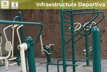 Infraestructura Deportiva / Recuperación y rehabilitación de espacios deportivos.