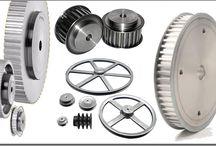 Polias, Sincronizadas, Aluminio, Ferro Fundido, Engrenagens