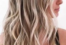melírozott hajak