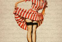 PIN UP  / pin up, vintage, classic,