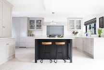 Classic, yet contemporary / A sleek, contemporary kitchen which will stand the test of time.