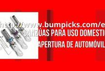 www.bumpicks.com / http://www.bumpicks.com/es/ Ganzuas para la apertura de todo tipo de cerradura Descubre la mayor selección de ganzúas y sistemas para la ayuda de apertura: http://www.bumpicks.com/es/ • Ganzúas para uso domestico • Apertura de Automóviles • Método bumping / golpeo  • Entrenamiento en uso de ganzúas