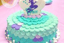 mermaid cakes
