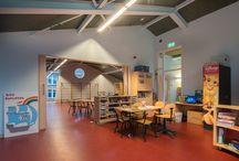 scholen verlichting / Mooie voorbeelden van recent verlichte scholen in Nederland
