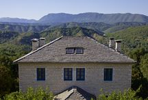 Zagori Suites / Seven luxurious, stone-built suites, nestled in the lush nature of Zagori, Greece. http://www.tresorhotels.com/en/hotels/70/zagori-suites