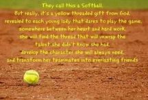 #4, That's my girl. / Softball / by Denise Becerra-Flores