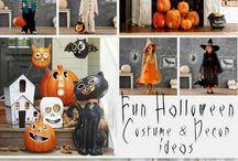 Fiesta de Halloween: Decoración / Ideas para que hagas una maravillosa fiesta temática de Halloween.