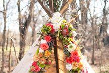 Rustic Romance / Romantic ideas for the beautifully boho bride.
