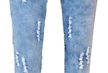 Ladies Jeans / Different type of ladies denim