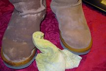 Clean Uggs  / by Briana Moench