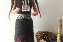 esculturas de mapuches