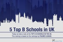 B-schools in UK / We have compiled a list of the leading B-schools in UK offering highly coveted MBA degrees for smart professionals keen on getting ahead of the competition and making it in the business world.