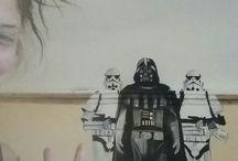muro star wars