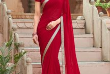 JOGAN / Get the latest & widest collection of  georgette designer printed saree from Laxmipati Sarees.