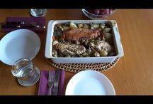 Baked duck & chicken with vegetables.Rață și pui la cuptor cu legume.Утка, курица, овощи в духовке. / Ingredients: duck-500g, chicken-500g, mushrooms-500g, 6 potatoes, 3 carrots, 1 pepper, 4 garlic, rosemary, oregano, basil, Himalayas salt with chili, water and olive oil. Prep time: 45 min. Ingrediente: carne de rață-500g, carne de pui-500g, ciuperci-500g, 6 cartofi, 3 morcovi, 1 ardei, 4 căpățâni de usturoi, rozmarin, oregano, busuioc, sare de Himalaya cu chili,  apă  și ulei de măsline. Timp de preparare: 45 min. Ингредиенты: мясо утиное-500г, мясо куриное -500г, картошка-6шт, морковка-3шт, пе