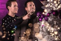 Christmas @AlienTrick / Kerst- Christmas - AREA 51 - kerstkaart - christmascard - seasons greetings  - kertsmis - collega's - feest