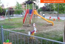 I nostri parco giochi - Il made in Italy Giochipark / Installazioni di giochi per parchi in Italia e in Europa firmati Giochipark