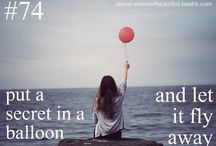 My Bucket List / I haven't done everything but it's on my list!