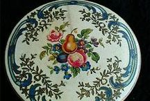 vintage powder compacts and lipsticks. / by sharon cleveland