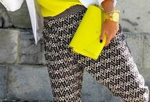 Outfit bolso amarillo